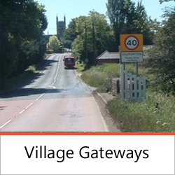 Traffic Calming - Village Gateway