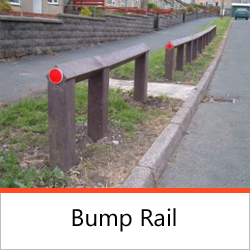 Post & Rail Fencing - Bump Rail