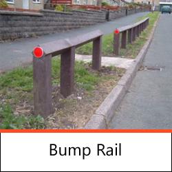 Post & Rail Fencing - Bump Rail
