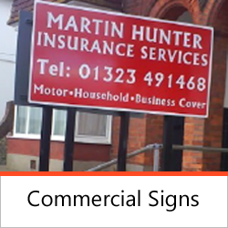 Signage - Commerical Signs