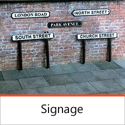 Street Furniture - Signage
